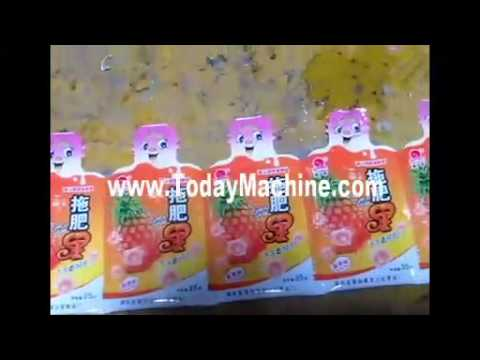 irregular shape bags packing machine, bottle shape filling sealing packing machine for bottle shape