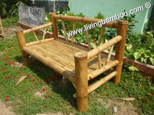 Banc de jardin en bambou, salon-Bancs de patio-ID de produit ...