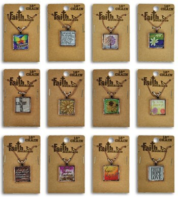 FAITH & INSPIRATION NECKLACES #027663