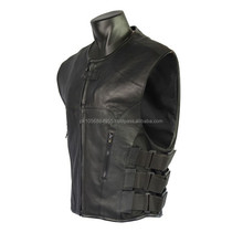 motorbike leather vest/biker leather vest vest Motorbike Leather vests / Motorcycle Leather Vests,Custom