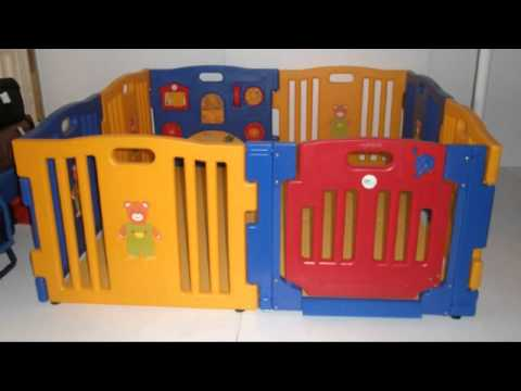 get quotations baby kids playpen 8 panel play center safety yard pen