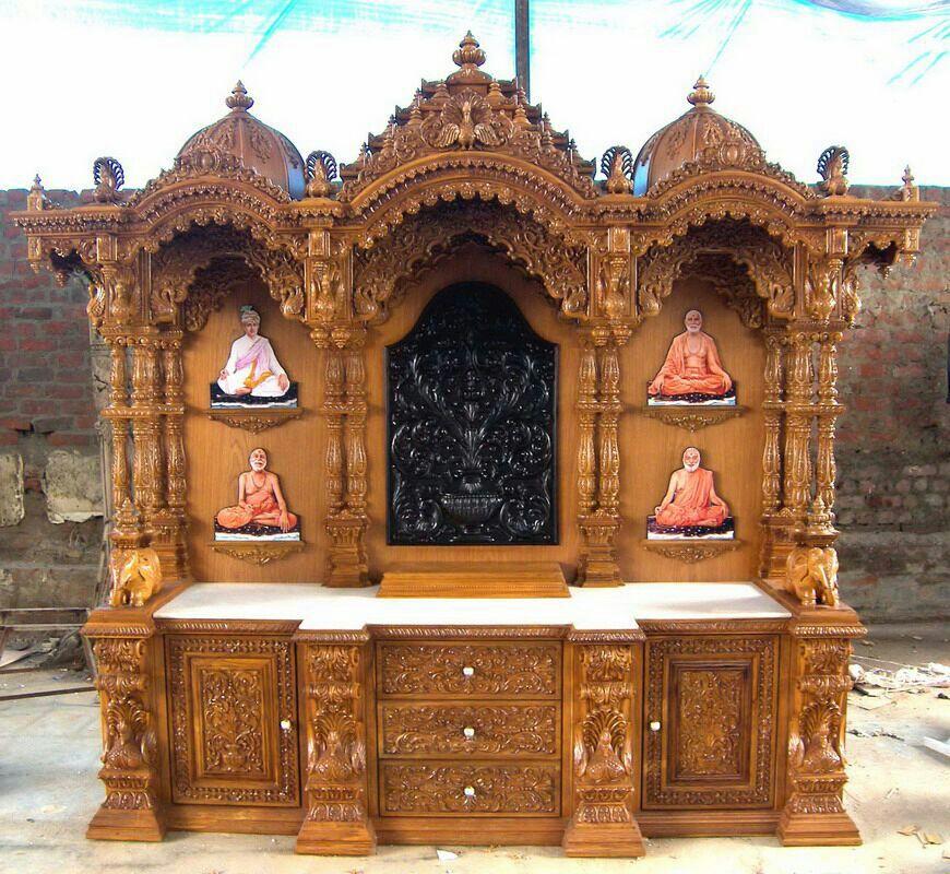 Swaminarayan Temple For Home Buy Swaminarayan Temple Mandir For Home Wooden Temple Temple For