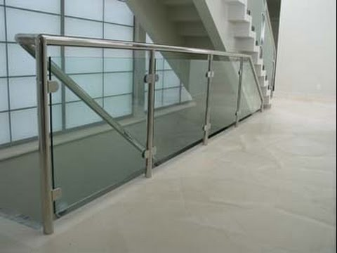 Get Quotations · Glass Stair Railings # Glass Stair Banisters And Railings