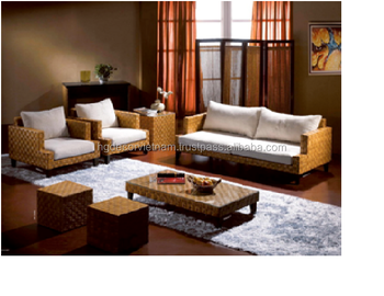 Terrific Elegant Water Hyacinth Sofa Set With Cushion High Quality Product Viet Nam Producer Buy Water Hyacinth Sofa Set Natural Rattan Sofa Ncnpc Chair Design For Home Ncnpcorg
