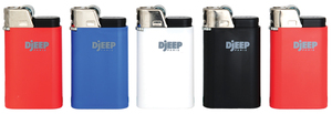 Djeep Lighters/Disposable lighter/sticker wrap lighter/Ultimate Lighter/Flint Lighter