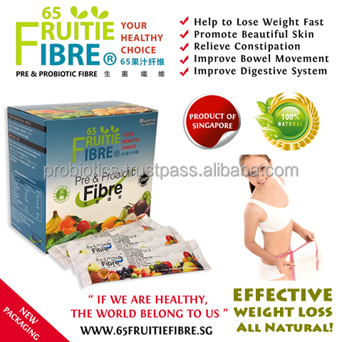 How To Lose Weight Fast - 65FruitieFibre Loss Weight Probiotics - 10 + 1 Box FREE Combo Package - Wholesale