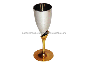 Wine Goblet Brass Wine Goblet Silver Plated Goblet Buy Gold And