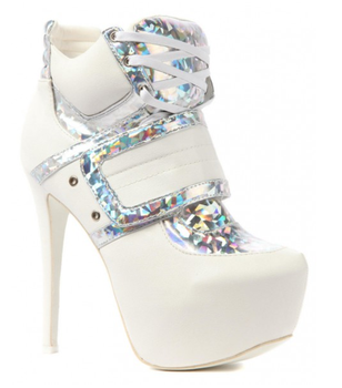 White High Heels 6 Inch Mule - Buy Super White Product on Alibaba ...