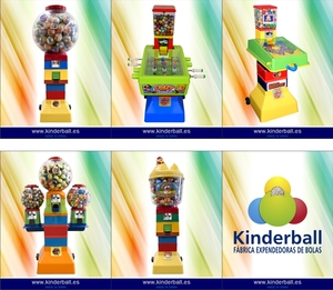 KINDERBALL VENDING MACHINES