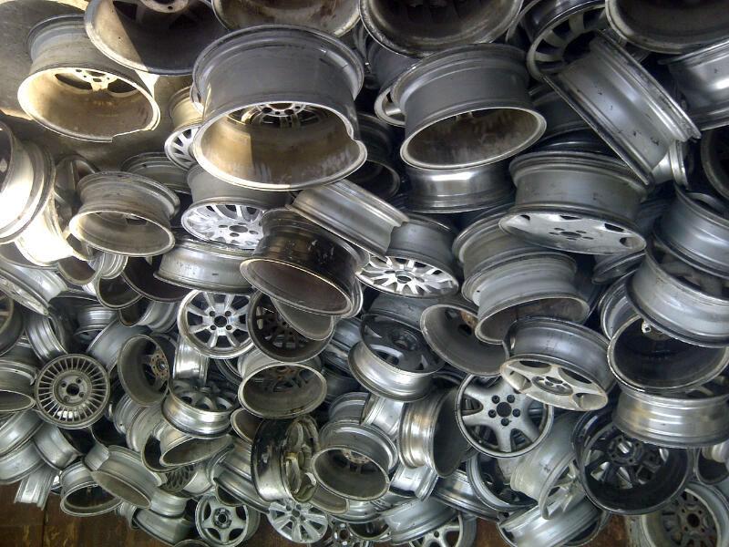 Aluminium Car Alloy Wheels Scrap