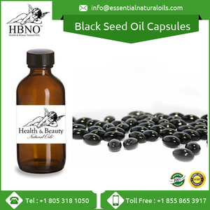 Private Labelling Organic Black Seed Oil Capsules