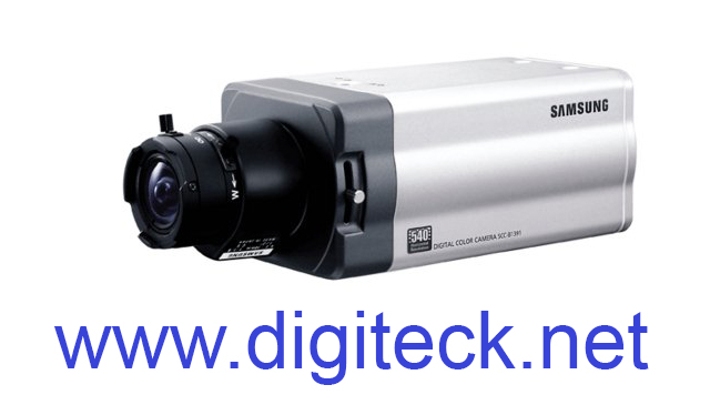 "SS35 - SAMSUNG SCC-B1091 1/3"" COLOUR DIGITAL CCTV 540TVL CAMERA 230VAC"