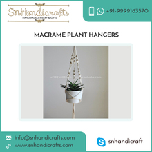 Fine Quality Simple Customized Macrame Indoor and Garden Pot Hanger