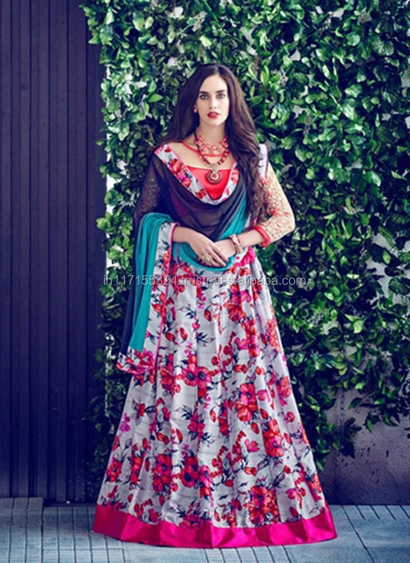 29f0fa6b42c045 Exclusive party wear lehenga choli - Fancy designer festival lehenga choli  - Fashion ethnic wear lehenga choli