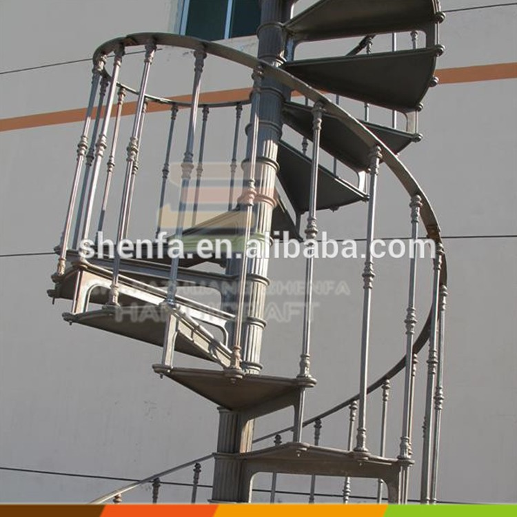 Cast Iron Prefabed Winding Spiral Stairs Buy Winding