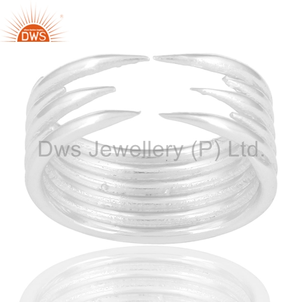 Designer Girls Band Rings Wholesale 925 Sterling Fine Plain Silver Rings New Fashion Jewelry Manufacturers