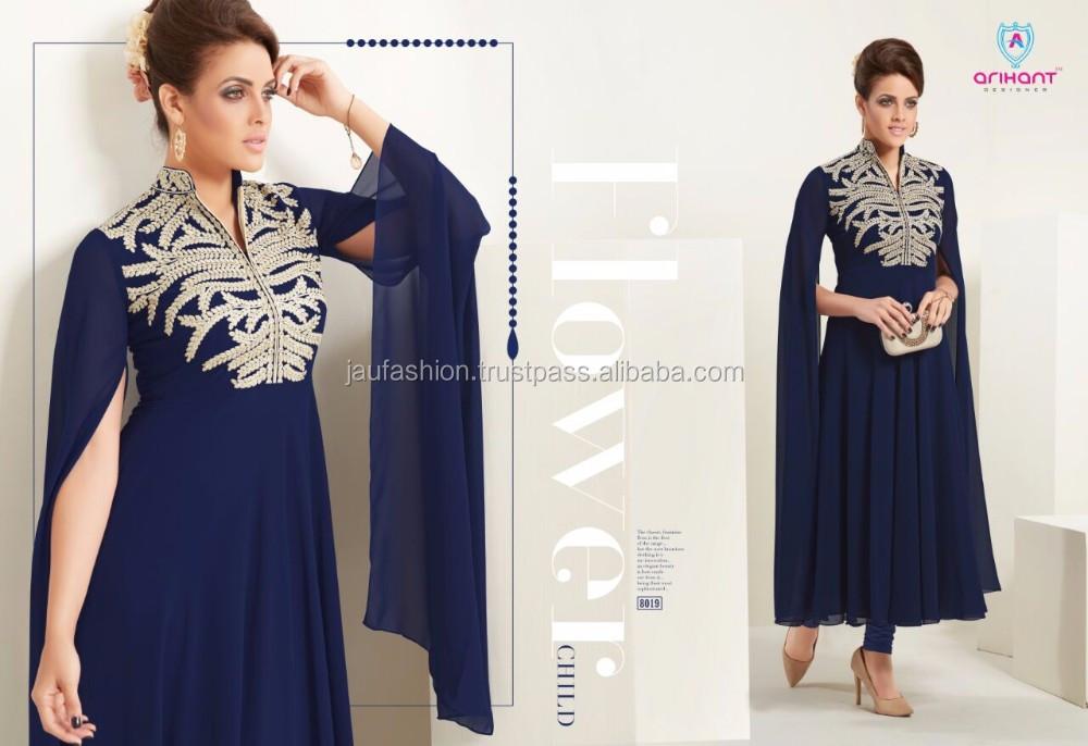 Latest Long Kurti Designs / Long Kurti Neck Designs / Best Kurti Designs /  Ladies Plain Cotton Kurti / Hand Work Kurti - Buy Neck Designs For Ladies