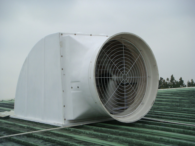 Fiberglass Hood Industrial Roof Vent Adjustable Louver