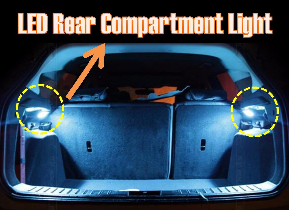 Automotive Special Fitting Car Boot Light Back Door Lamp For Toyota
