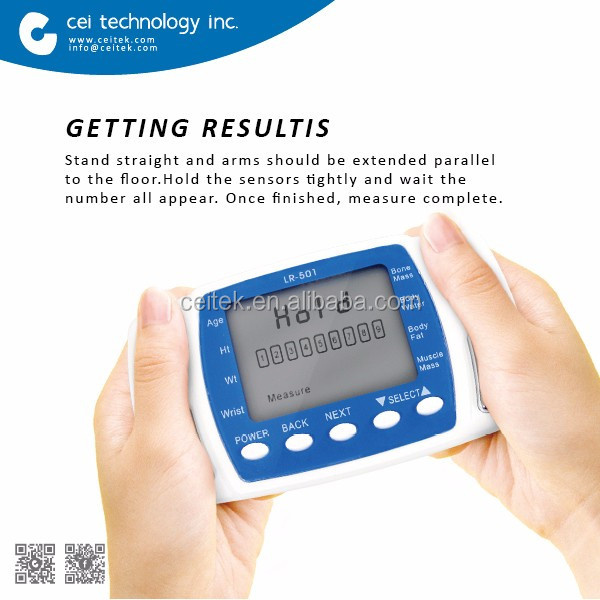 Newest Digital Mini Portable Handheld Body Composition Device,Body ...