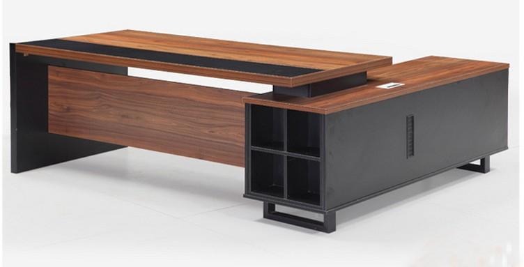 melamine executive office furniture desk modern buy office desk