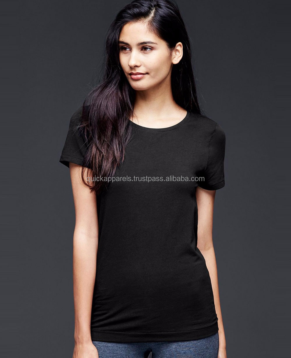 Plain black t shirt style - Cotton Slub Fabric T Shirts Cotton Slub Fabric T Shirts Suppliers And Manufacturers At Alibaba Com