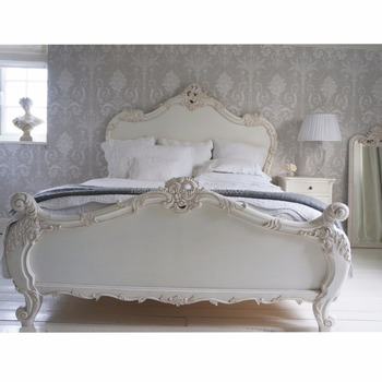 French Luxury Baroque Bed Frame