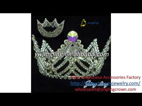China Wedding Alloy Tiaras, Bridal Crystal Pageant Tiaras and Crowns exporter