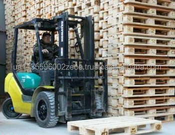 Industrial Packaging Euro Pallets