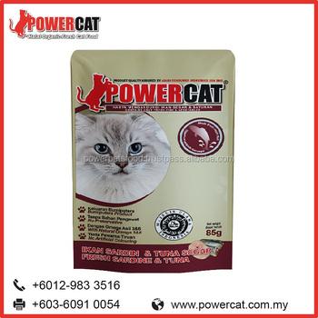 Bulk Dry Wet Canned Cat Food Fresh Sardine And Tuna Flavor Buy