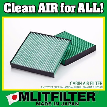 Various types of functional car air filter for Lexus car parts for PM 2.5