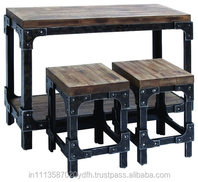 Vintage Iron Crank Dining Table, Vintage Iron Crank Dining Table ...