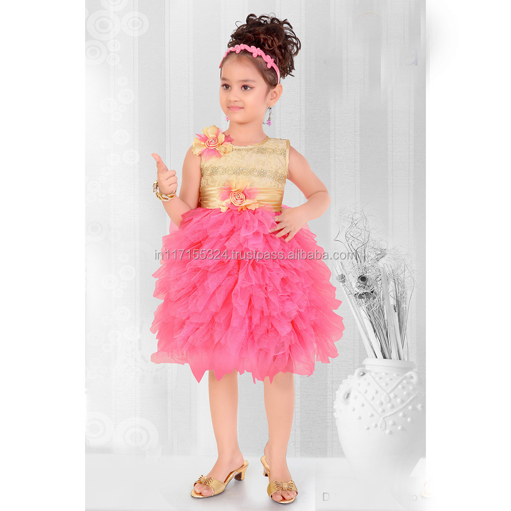Kids Ethnic Wear-frock Designer Wear-2015 New Frock Design Dresses ...