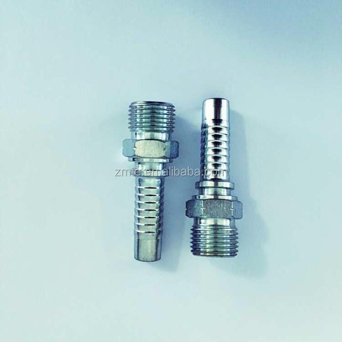 Bsp to npt thread adapters nipple stainless steel pipe