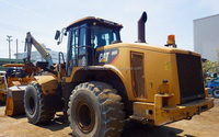 Used caterpillar wheel loader 966H from USA