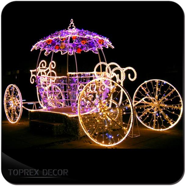 Wedding Decoration Cinderella Pumpkin Carriage For Outdoor