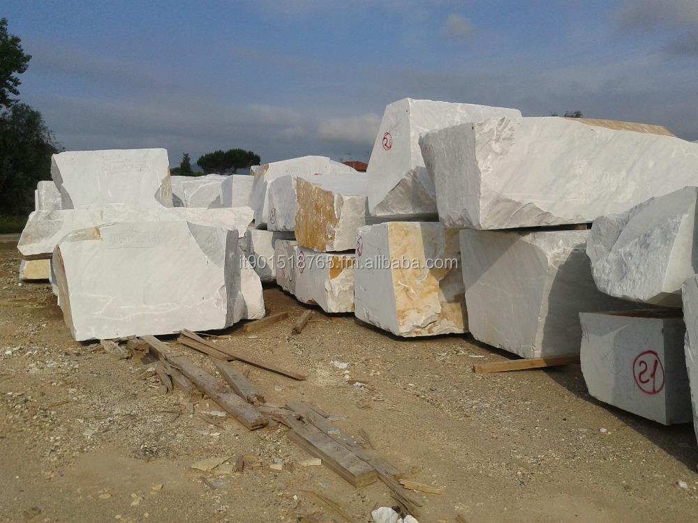 Blocs de marbre blanc de carrare fruendi marbre srl for Marbre de carrare blanc