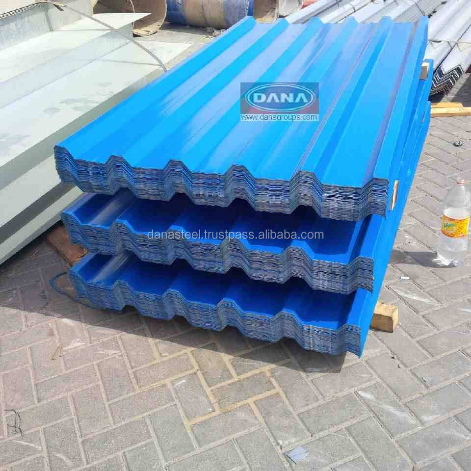 Roofing Sheet Corrugated For Warehouse Dubai Sharjah