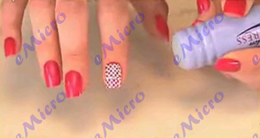 Salon Express Nail Art Stamping Kit Diy Like A Pro - Buy Nail Diy ...
