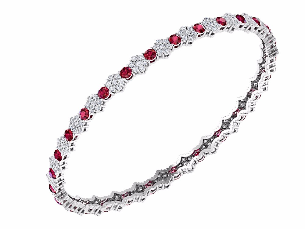 gold ruby at j l jewelry tiffany co id bracelet bangles sale bangle for and diamond org bracelets