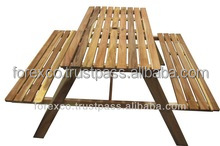 Outdoor Wooden Picnic Table, Acacia wood
