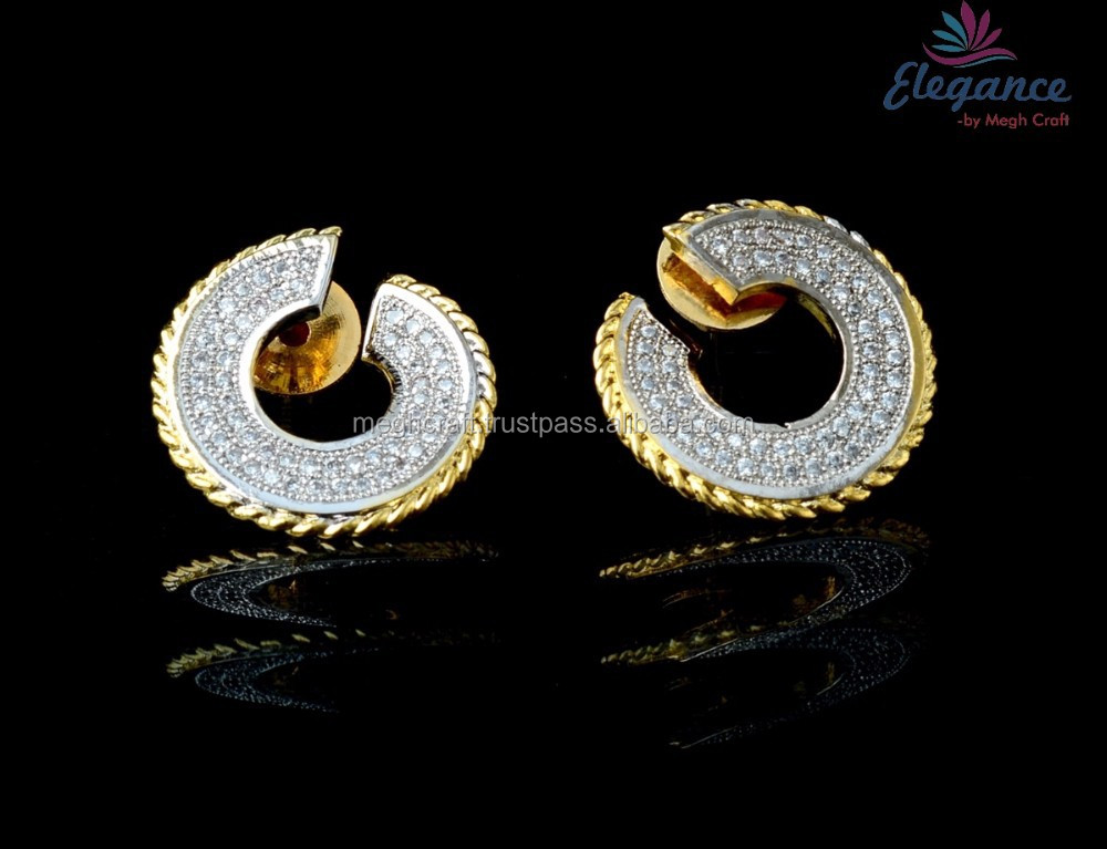 stamped earrings g exclusive diamond yellow with purity kavels color on set diamonds vvs gold total