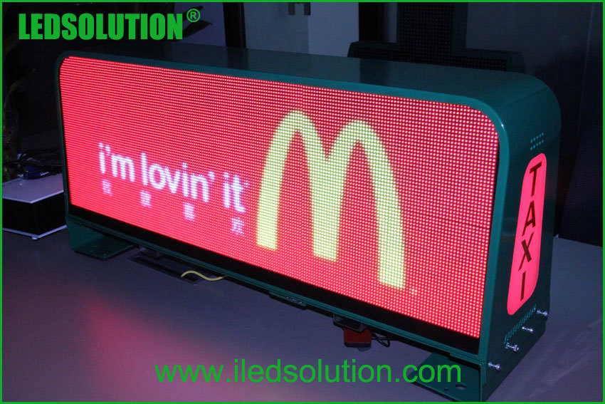 New Products Taxi Roof Top Advertising Signs Taxi Top