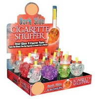 CLEAR POLY SKULL SNUFFER #027141L