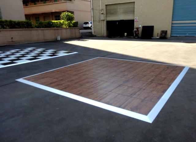 Dance Mat Eva Floor Carpet