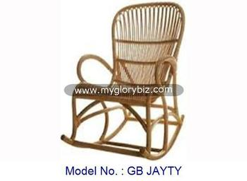Natural Rattan Chair Indoor Furniture Antique Classic Rocking Chair ...
