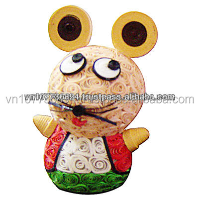 Animals Mouse paper handmade Quilling