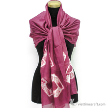 Custom Design Scarf with Hand pattern Printed - many colors and designs to choose for customers