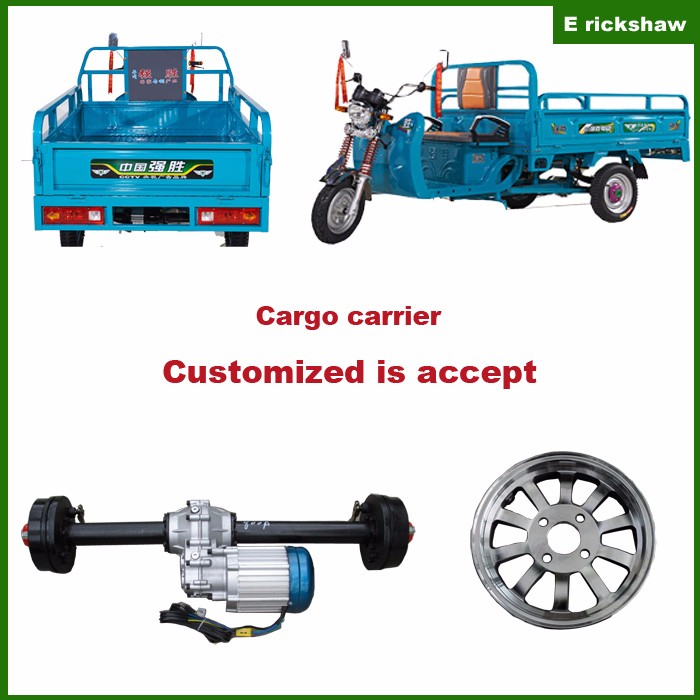 Cargo Electric Tricycle Battery Operated Loader