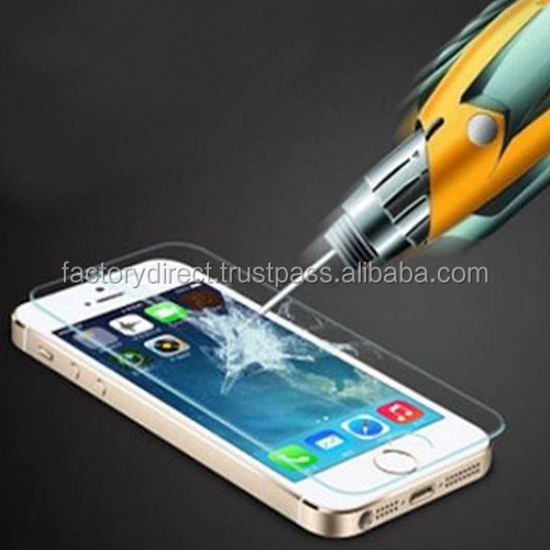 High Quality Tempered Glass H9 0,26mm Round Edges Display Shield Screen Guard for Samsung Galaxy S7 Edge